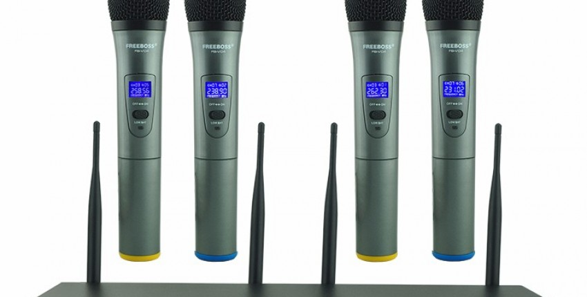 Беспроводная система микрофонов UHF профессиональная - отзыв покупателя