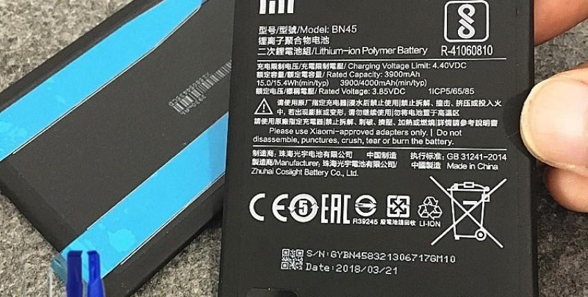 Оригинальный аккумулятор для телефона BM47 для Xiaomi Redmi 3 3S 3X4X3 pro Note 3 5 5A Pro mi 5X BM4 - отзыв покупателя