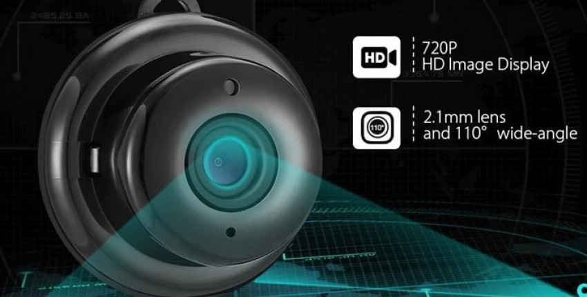 Wi Fi камера ночного видения. Беспроводная DIGOO DG-MYQ 2,1 мм объектив 720 P