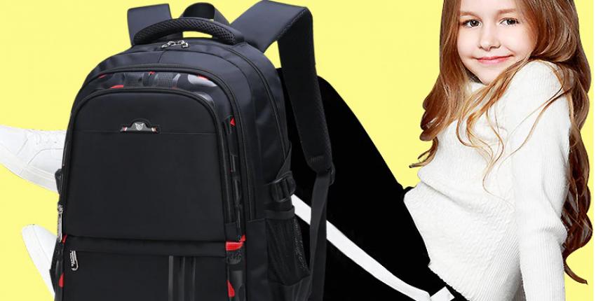 Школьные рюкзаки для девочек и мальчиков Водонепроницаемые, ортопедические