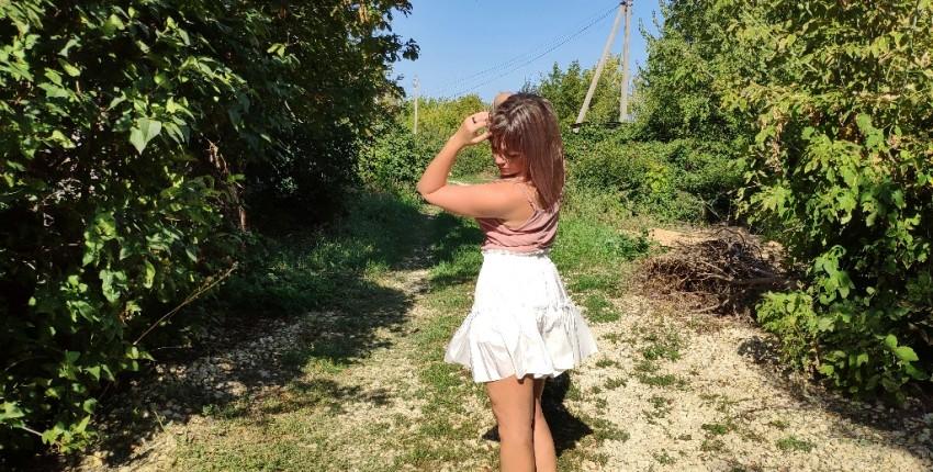 Летняя воздушная юбка AOEMQ - отзыв покупателя