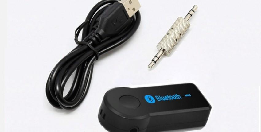 Беспроводной автомобильный bluetooth аудио адаптер 3,5 - отзыв покупателя