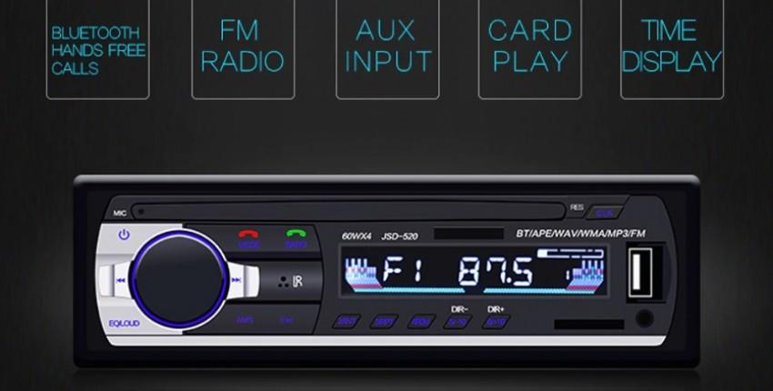 Автомобильный радиоприемник 1DIN с дистанционным управлением