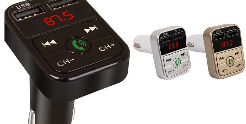 Автомобильный Bluetooth FM-передатчик - отзыв покупателя