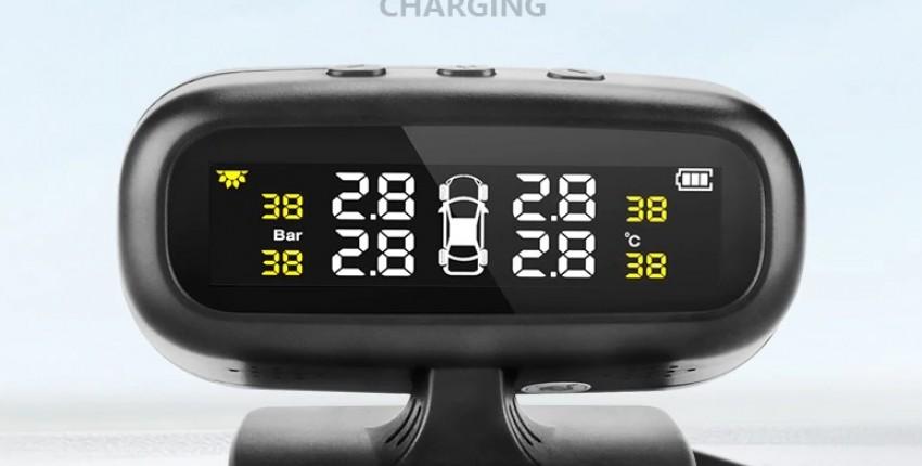 Датчик давления в шинах вашего авто.