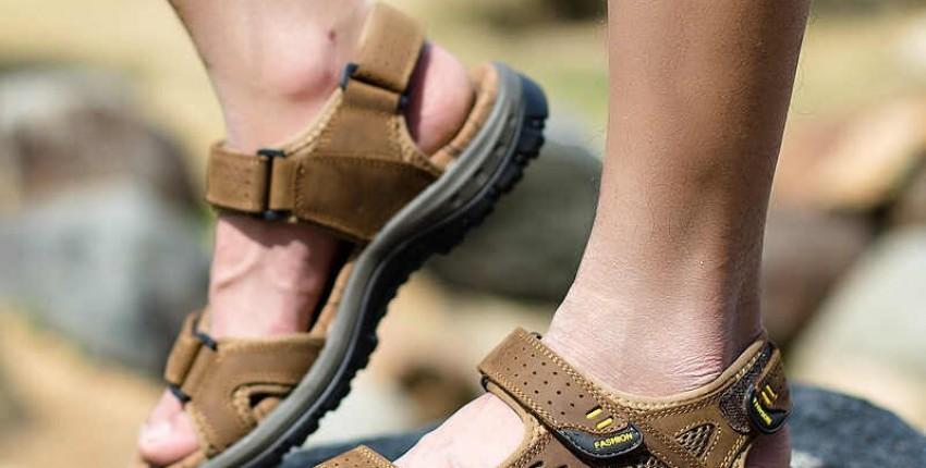 Мужские кожаные сандалии в римском стиле - отзыв покупателя