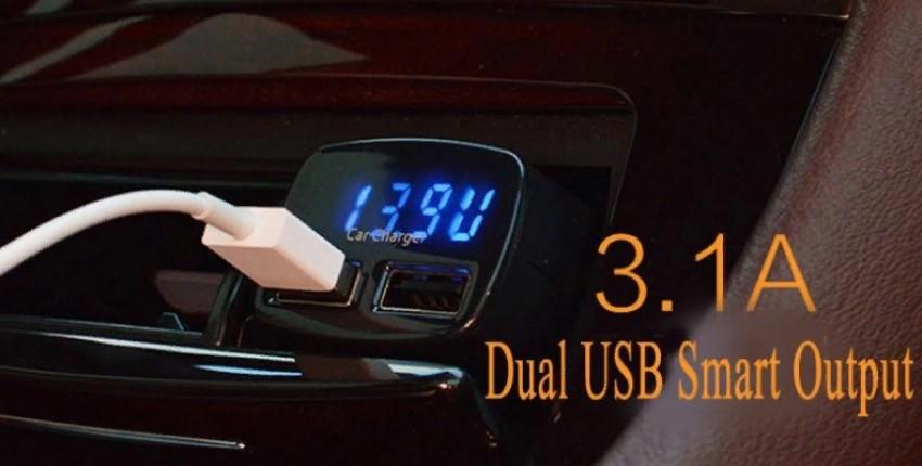 4 в 1. USB зарядное устройство DC 5 В 3.1A Универсальное напряжение/температура/измеритель тока - отзыв покупателя