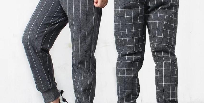 Acthink модные casual брюки в полоску/клетку для мальчиков - отзыв покупателя