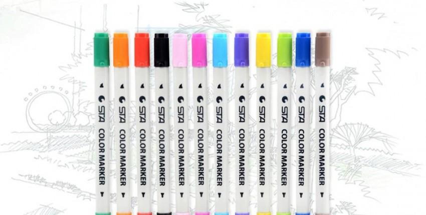 Набор двусторонних маркеров - отзыв покупателя