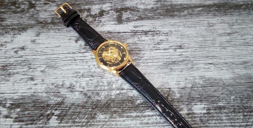 Крутые часы скелеты Winner - отзыв покупателя