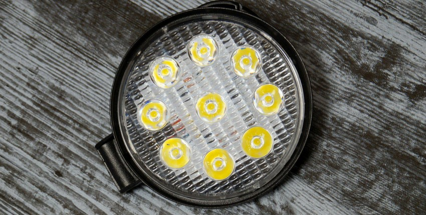 27 Вт круглый светодиодный фонарь