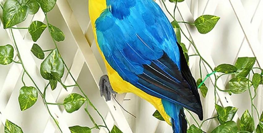Декоративная фигурка попугая. - отзыв покупателя