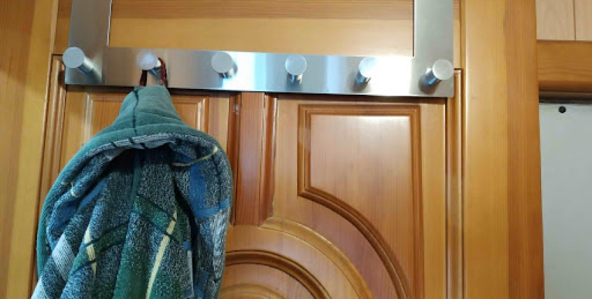 Вешалка универсальная красивая в ванную комнату - отзыв покупателя