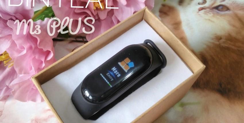 Фитнес-браслет M3 PLUS от бренда BINYEAE - отзыв покупателя