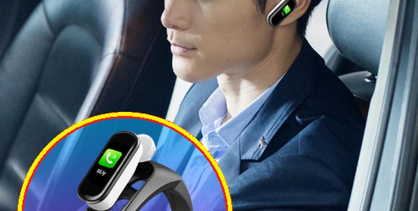 Фитнес трекер Умный Браслет Беспроводная Bluetooth  гарнитура H109 Talkband - отзыв покупателя
