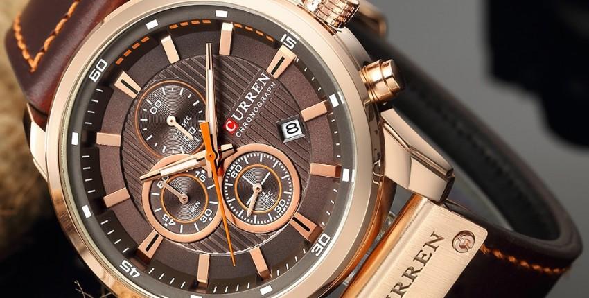 Роскошные наручные часы CURREN relogio masculino - отзыв покупателя