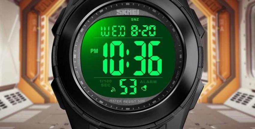Брендовые мужские спортивные часы водонепроницаемые - отзыв покупателя