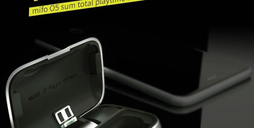 Mifo O5 Global Limits Bluetooth 5,0 сбалансированные арматурные настоящие беспроводные наушники
