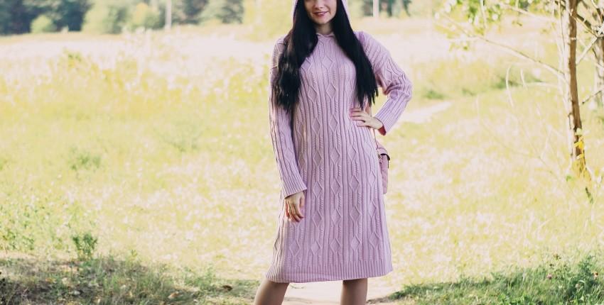 Уютное вязаное платье EZSSKJ - отзыв покупателя