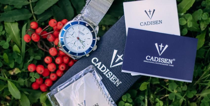 Кварцевые часы CADISEN C9067 - отзыв покупателя