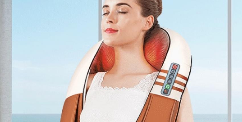 Многофункциональный u-образный Электрический  Массажер для плеч, шеи и других частей тела - отзыв покупателя