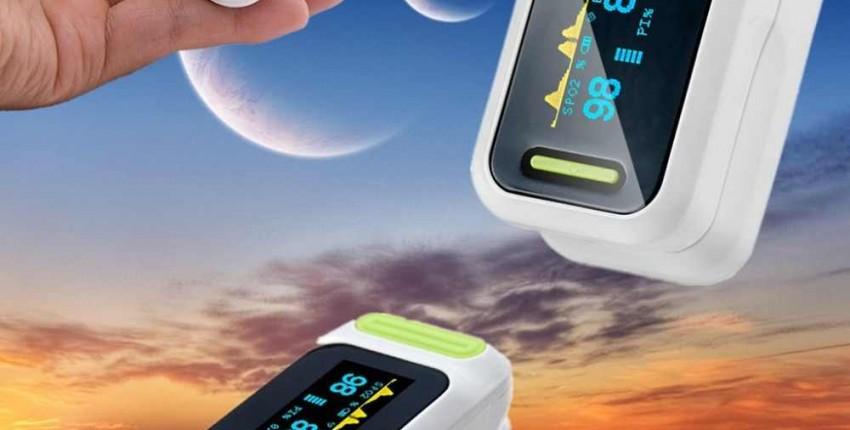 Пальцевой пульсоксиметр с чехлом - отзыв покупателя