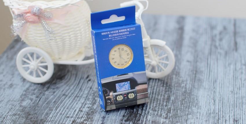 Освежитель воздуха для автомобиля с часами или наоборот