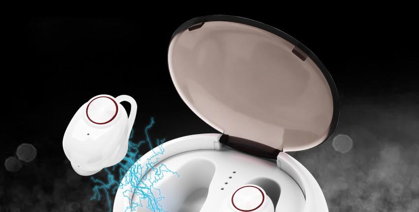 Высококачественная Беспроводная bluetooth-гарнитура BTH-V5 TWS - отзыв покупателя