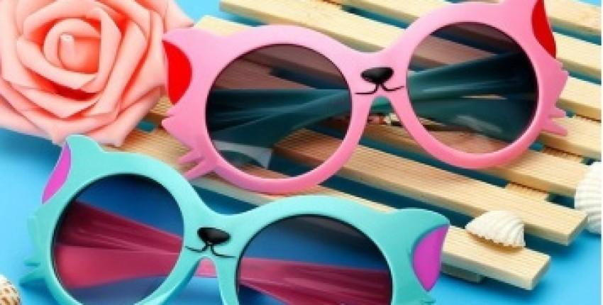 Солнцезащитные детские очки-кошечки - отзыв покупателя