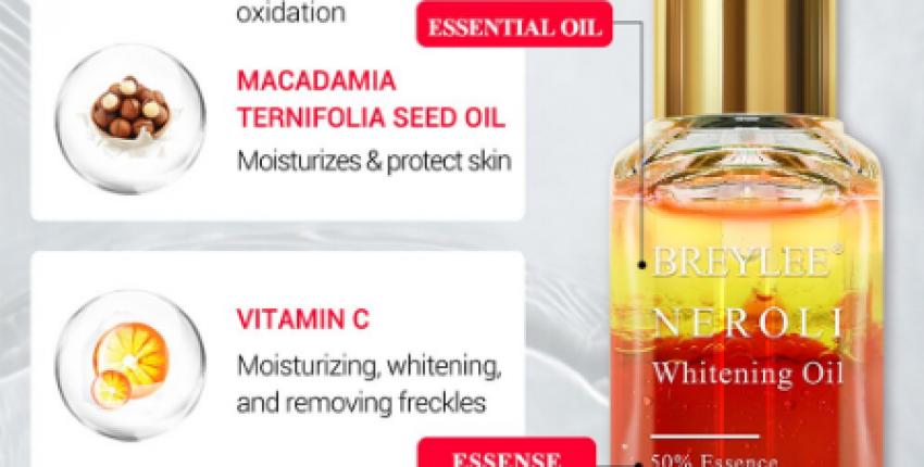 BREYLEE Neroli Whitening Essential Oils.Осветляющая кожу Сыворотка с Эфирными маслами.