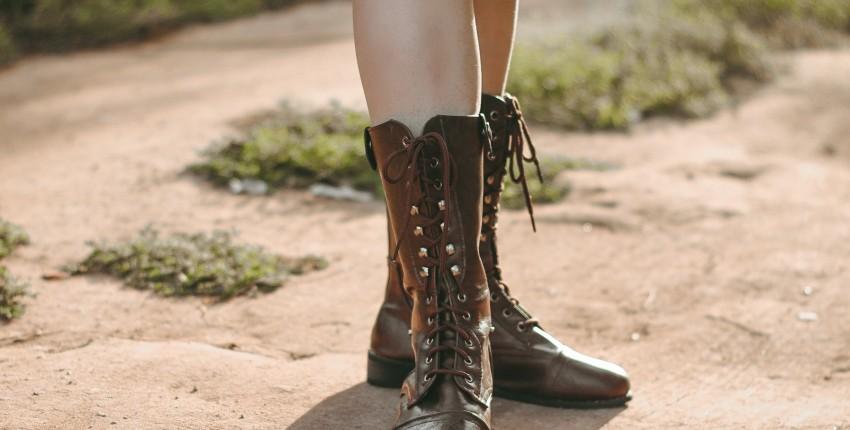 Крутые сапожки на шнуровке  NAKKESHMEN - отзыв покупателя