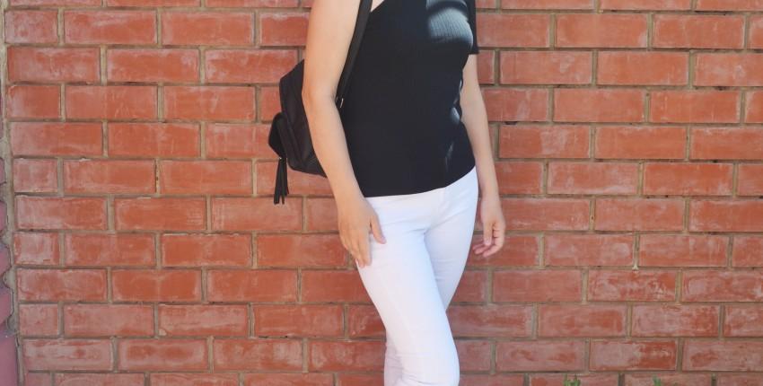 Базовые белые джинсы с высокой талией, которые можно брать. Как не промахнуться с размером? - отзыв покупателя