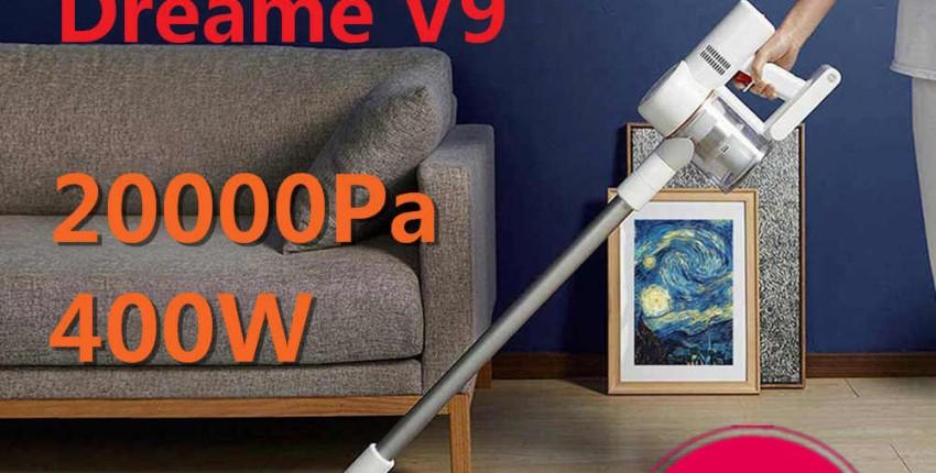 Портативный беспроводной пылесос Dreame V9P - отзыв покупателя