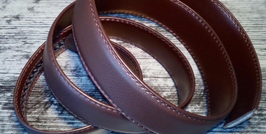 Ремень без Пряжки из кожзаменителя - отзыв покупателя