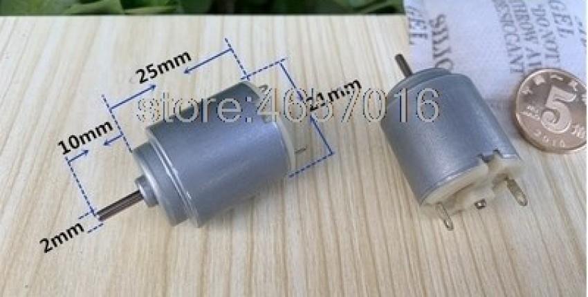 Mabuchi 140 micro DC motor RE-140RA-18100 1.5V-3V.