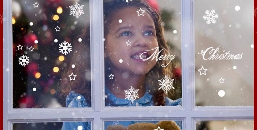 Снежинки на окно. Скоро новый год! - отзыв покупателя