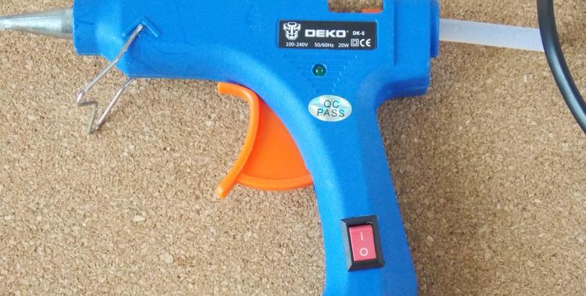 Термо клеевой пистолет DEKO - отзыв покупателя