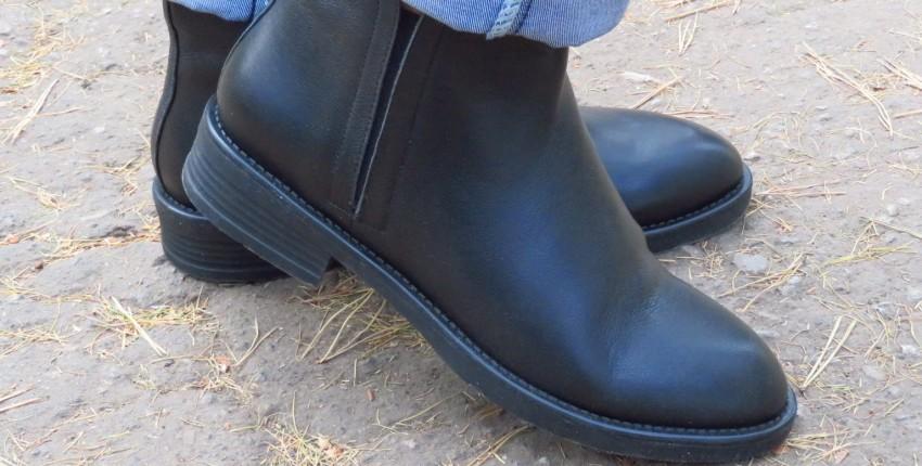 Модные комфортнейшие ботинки на осень из натуральной телячьей кожи - отзыв покупателя
