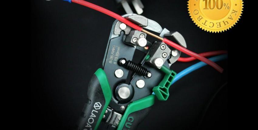Универсальные плоскогубцы для зачистки и обжима проводов