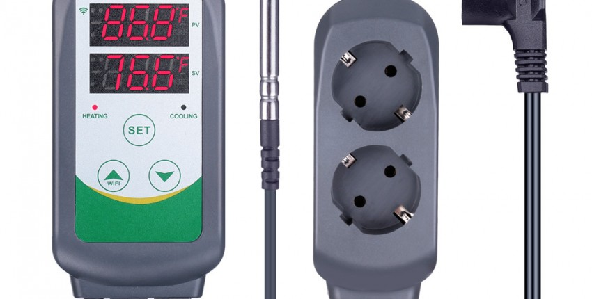 Цифровой регулятор температуры Inkbird ITC-308 и 308 wifi ЕС штекер