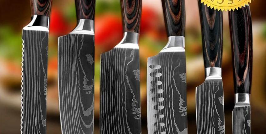 Набор Японских кухонных ножей XITUO - отзыв покупателя