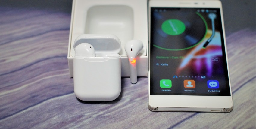 i11 TWS Bluetooth 5.0 наушники с микрофоном