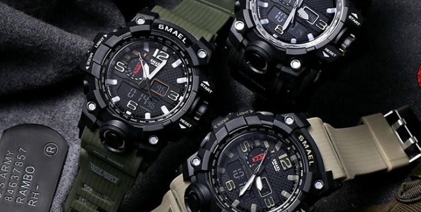 Мужские часы SMAEL - отзыв покупателя