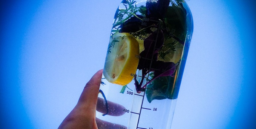 Удобная бутылка для воды - отзыв покупателя