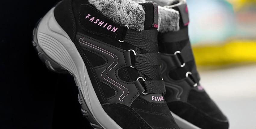 Зимние женские кроссовки. - отзыв покупателя