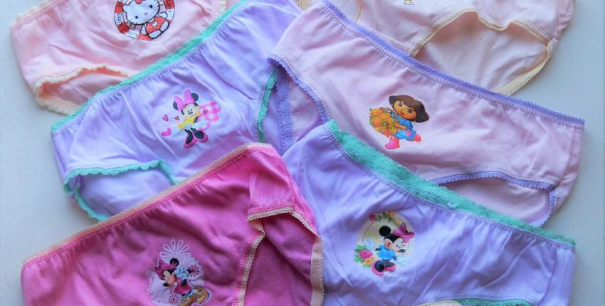 ДЕТСКИЕ ТРУСИКИ для девочек 5-8 лет