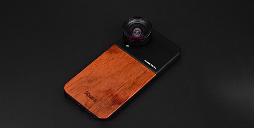 Деревянный чехол на телефон и объектив-прищепка - отзыв покупателя