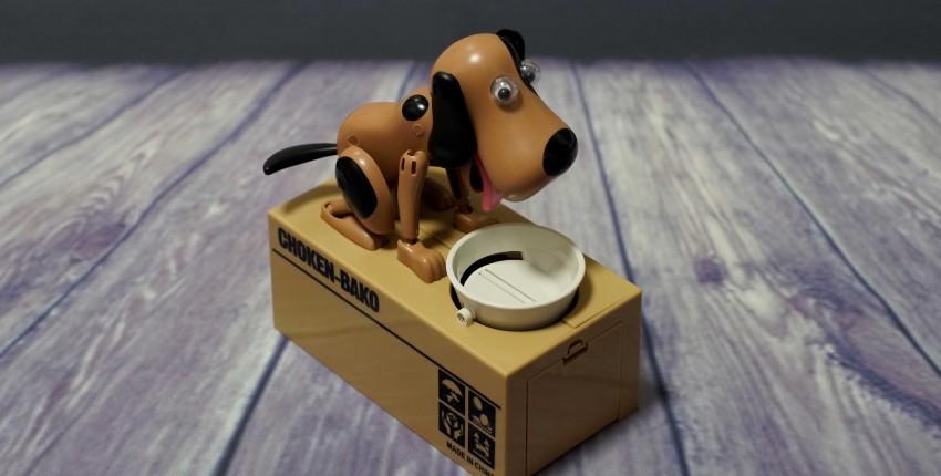 Электронная копилка  собачка, поедающая монеты - отзыв покупателя