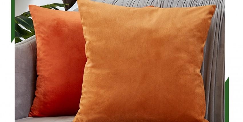 Красивые мягкие наволочки под бархатные подушки - отзыв покупателя