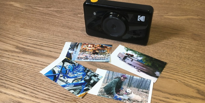 Камера с мгновенной печатью KODAK Mini Shot 2